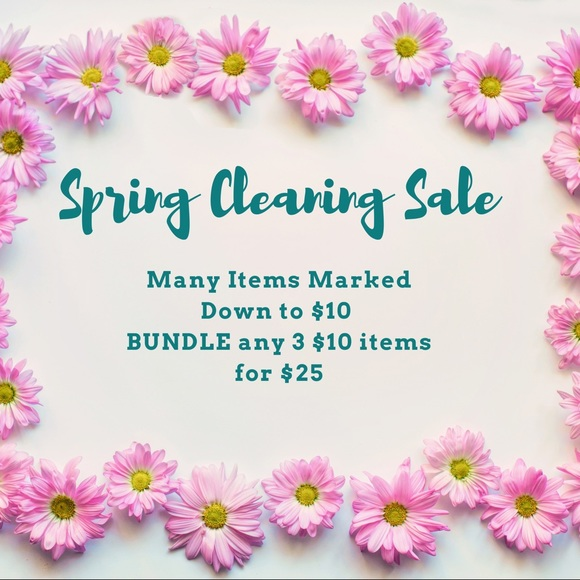 Other - $10 Spring Cleaning Sale